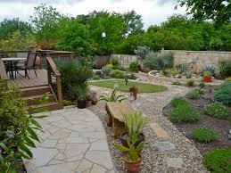 Beautiful Backyard Designs by Ideas Beautiful Backyards Design With Stone Flooring And Gravel