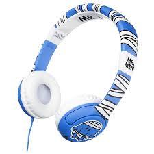 men mm0160 bump ear headphones blue