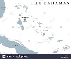 Nassau Bahamas Map The Bahamas Political Map With Capital Nassau Commonwealth And