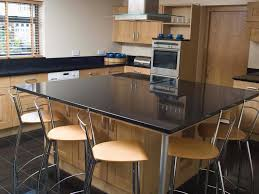 Kitchen Island With Black Granite Top Ceramic Tile Countertops Kitchen Island Table Combo Lighting
