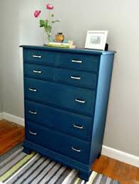navy blue nightstand blue painted furniture blue nightstands
