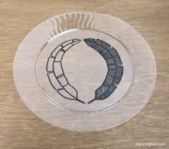 keepsake plates ink glue ink and glue