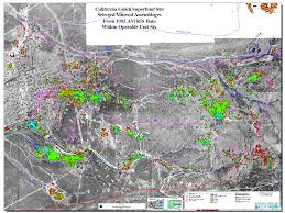 Colorado Front Range Map Usgs Spec Lab Environmental Mapping At Leadville Colorado