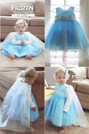 diy frozen elsa dress baby edition free tutorial kiki u0026 company