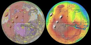 Mars Map New Mars Map Gives Best View Of Red Planet U0027s Surface Yet Huffpost