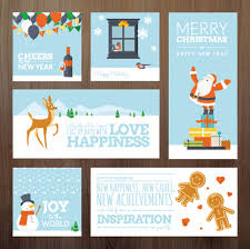 happy new year greeting card template free vector download 26 484
