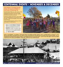 2016 thanksgiving date 2016 guide to events u2014 corte madera 100 years