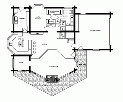 apartments rustic cabin floor plans small cottage plan walkout