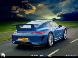 porsche blue gt3 2014 porsche gt3 from rendering to reality nordschleife autoblahg