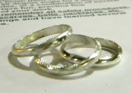 simple metal rings images Learn how to solder in a ring making project jewelry making daily jpg