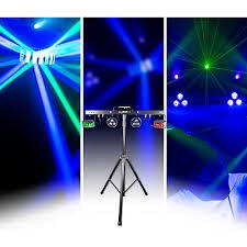 guitar center dj lights chauvet dj gigbar 2 4 in 1 led lighting system with 2 led derbys