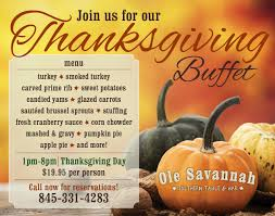 thanksgiving buffet ole
