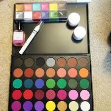 swatches morphe brushes 35c multi color matte palette