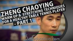 zheng chaoying warm up and stretching techniques for a healthy