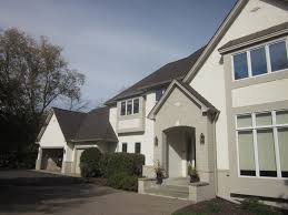 this homeowner opted for gaf glenwood shingles in dusky gray