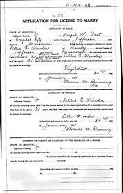 scanned marriage records