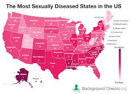 Usa Carry Map by Which States Have The Most Stds Backgroundchecks Org