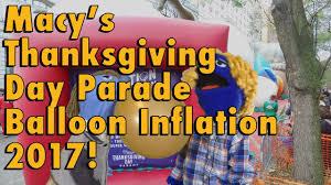 macys thanksgiving day parade balloon inflation 2017 olaf spongebob