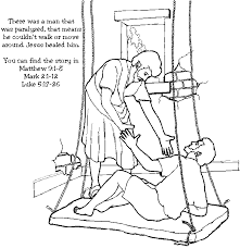 Blind Bible Bible Jesus Heals The Blind Man Coloring Pages Coloring Pages