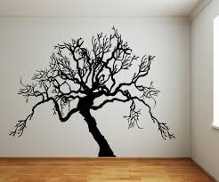 vinyl wall decal sticker scary tree from stickerbrand vinyl wall decal sticker scary tree ac221
