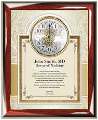 med school graduation gift personalized poetry gift for doctor physician