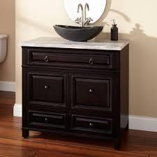 inspiring modern black bathroom vanity cabinets design and decor