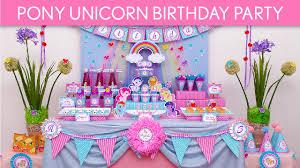 unicorn birthday party pony unicorn birthday party ideas pony unicorn b55