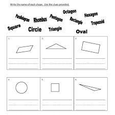 shape recognition worksheet grade shape identification worksheet 06 one page worksheets