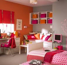 Orange And White Bedroom Ideas Bedroom Great Looking Tween Bedroom Design With White Study