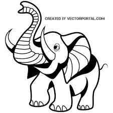 40 cartoon elephant vectors download free vector art u0026 graphics