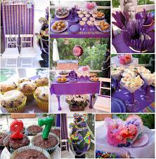 mini surprise birthday party in purple the party event
