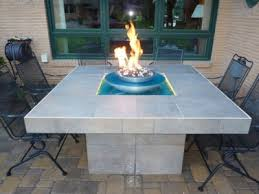 How To Build A Propane Fire Pit Table by Custom Fireglass Fire Tables Burners And Propane Burners Safe For
