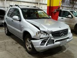 2001 mercedes ml320 auto auction ended on vin 4jgab54e11a259900 2001 mercedes