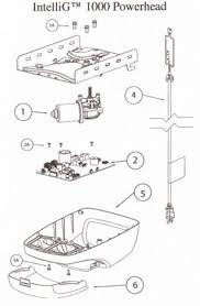 Overhead Door Python Chain Glide Python Compatible Garage Door Opener Parts Intellig Odyssey