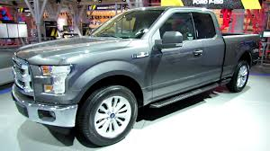 different types of ford f150 2015 ford f150 xlt exterior and interior walkaround debut at