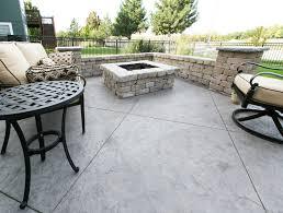 Patio Concrete Designs by Gallery Aesthetic Concrete Designs