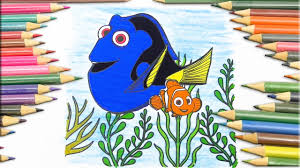 coloring pages dory and nemo finding nemo fun for kids coloring