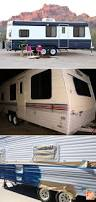 camper makeover how to repaint a travel trailer clutter chats