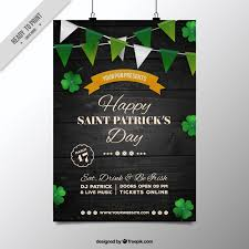 freebie 5 free flyer u0026 poster templates for st patrick u0027s day