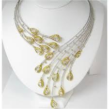 collar diamond necklace images 18k ladies elaborate diamond collar necklace diamond necklaces in jpg