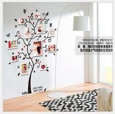 Tree Wall Decals For Living Room Aliexpress Com Buy Photos Family Tree Wall Stickers Quotes