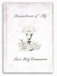 communion book communion mass book 33332