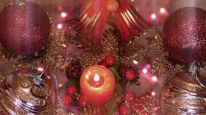 beautiful ornaments and candles for new year decoration 4 k