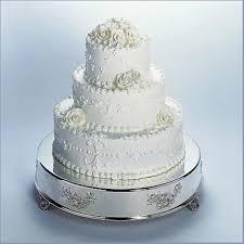 silver round wedding cake stand round designs