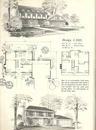 Tudor Mansion Floor Plans by Vintage House Plans 2525 Antique Alter Ego