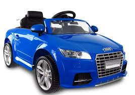 audi tt electric audi tt rs blue electric ride on car electric ride on vehicles