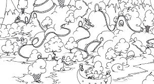 coloring pages bluebison net