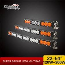 orange led light bar off road led light manufacturers and factory wholesale off road