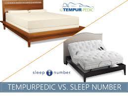 Bed Frames For Tempurpedic Beds Tempurpedic Vs Sleep Number Sleep Advisor 100 Unbiased Evaluation