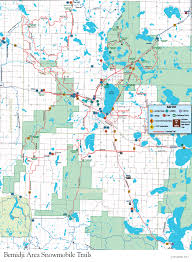 Baxter State Park Map by Minnesota Snowmobile Vacation And Trail Reports Bemidji Mn